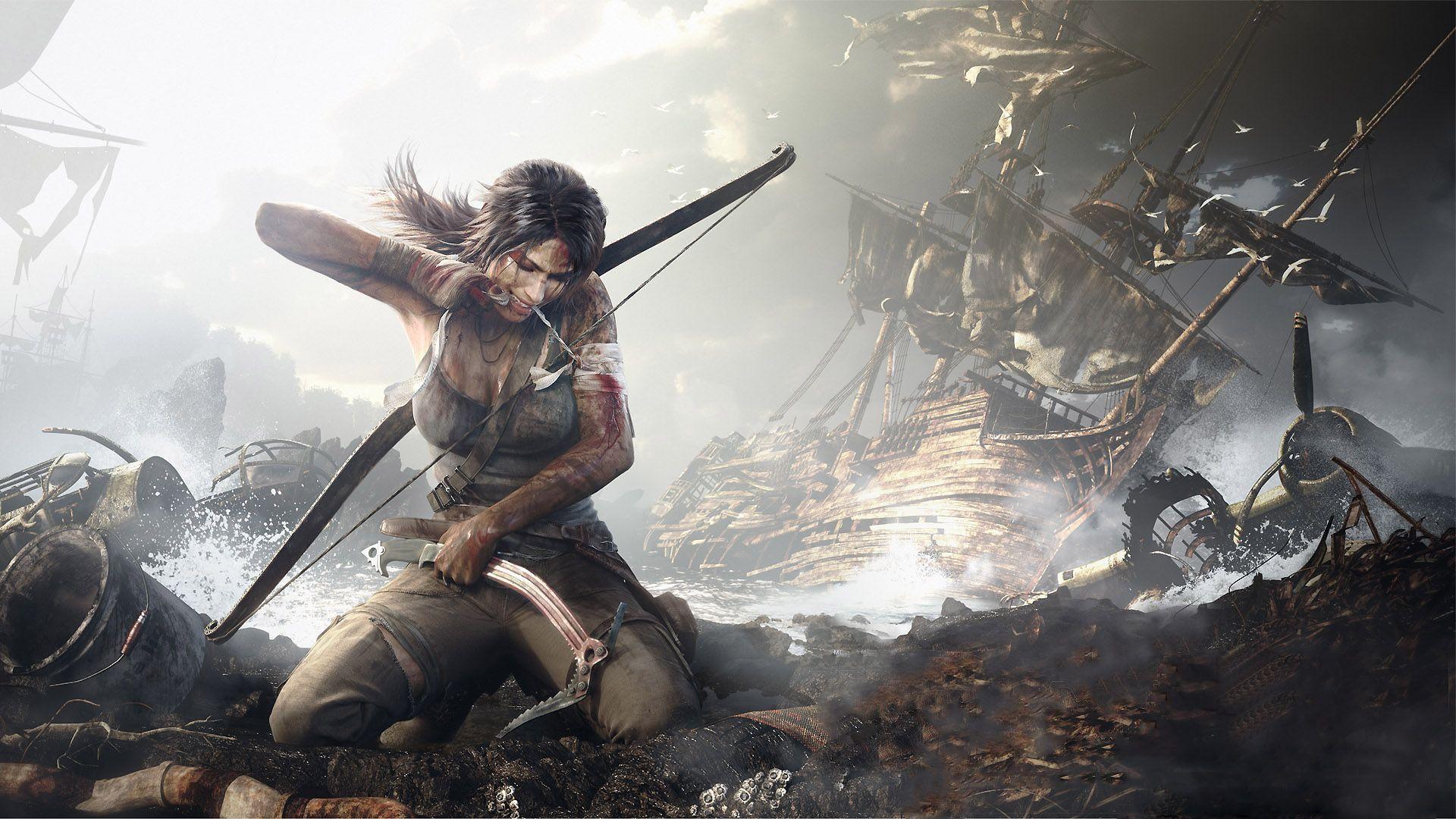 Tomb Raider 2013 Release Date Videos Screenshots