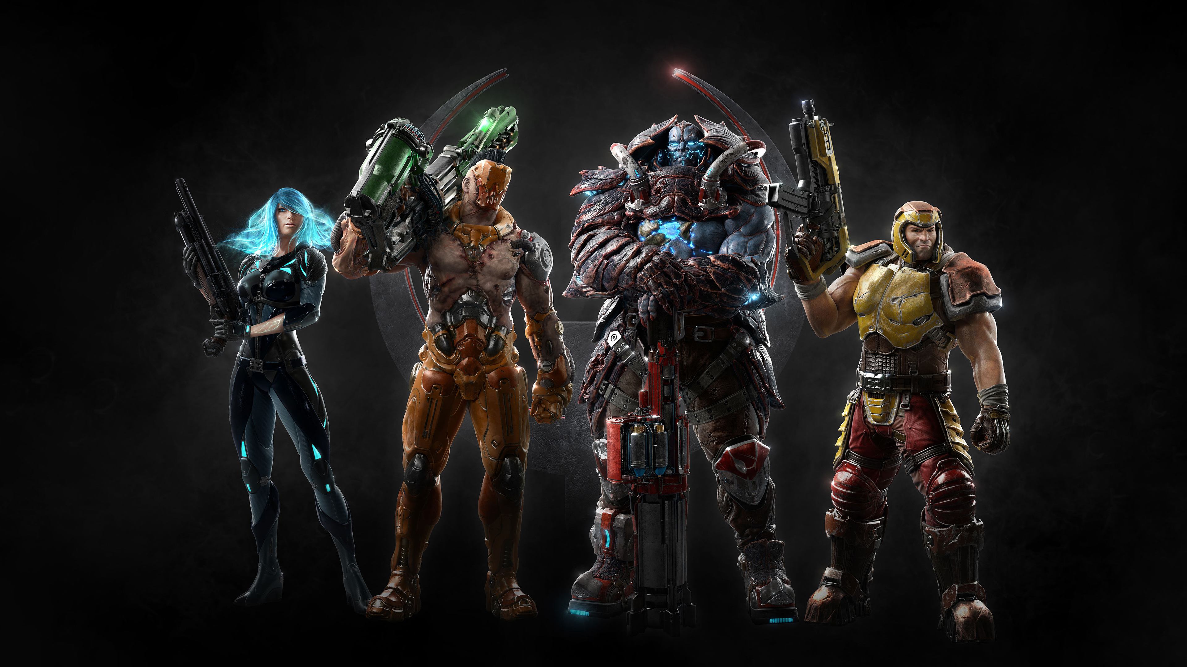 Quake Champions - release date, videos, screenshots, reviews on RAWG