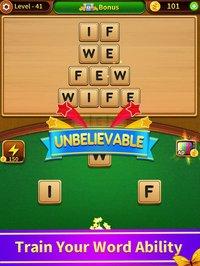 Cкриншот Word Game - a word puzzle game, изображение № 1776722 - RAWG
