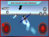 Cкриншот Flying Bike: Police vs Cops - Police Motorcycle Shooting Thief Chase PRO Game, изображение № 1729217 - RAWG