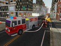 Cкриншот Fire truck emergency rescue 3D simulator free 2016, изображение № 1987328 - RAWG