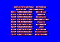 Cкриншот Critical Mass (1985), изображение № 756767 - RAWG