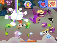 Cкриншот Flipped Out – The Powerpuff Girls Match 3 Puzzle / Fighting Action Game, изображение № 821408 - RAWG
