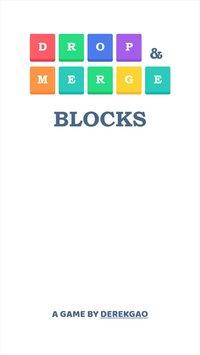 Cкриншот Drop and Merge Blocks, изображение № 2246032 - RAWG