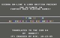 Cкриншот Ultima II: The Revenge of the Enchantress, изображение № 745826 - RAWG