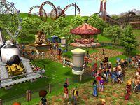 Cкриншот RollerCoaster Tycoon 3: Магнат индустрии развлечений, изображение № 394777 - RAWG
