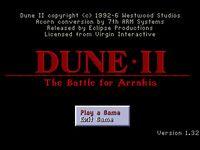 Dune II: Battle For Arrakis screenshot, image №748191 - RAWG
