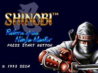 Shinobi III: Return of the Ninja Master screenshot, image №249057 - RAWG