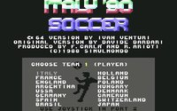 Italy '90 Soccer screenshot, image №748820 - RAWG