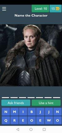 Cкриншот Game of Thrones Quiz, изображение № 2430684 - RAWG