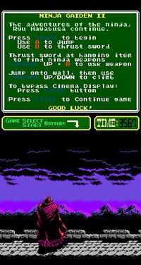 Cкриншот Ninja Gaiden II: The Dark Sword of Chaos (1990), изображение № 737119 - RAWG