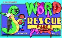 Cкриншот Word Rescue, изображение № 164997 - RAWG