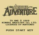 Cкриншот Castlevania: The Adventure (1989), изображение № 751196 - RAWG
