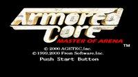 Armored Core: Master of Arena screenshot, image №1627882 - RAWG