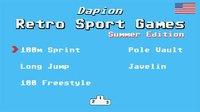 Cкриншот Retro Sports Games Summer Edition, изображение № 1832523 - RAWG