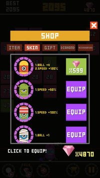 Cкриншот Bounzy Ball-Block breaker, изображение № 1805216 - RAWG