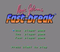Magic Johnson's Fast Break screenshot, image №736730 - RAWG