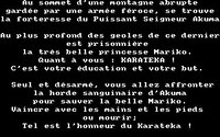 Karateka (1985) screenshot, image №741567 - RAWG