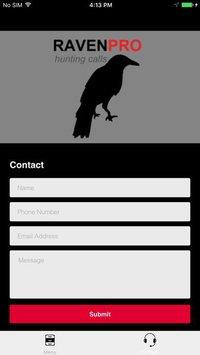 Cкриншот REAL Raven Hunting Calls - 7 REAL Raven CALLS & Raven Sounds! - Raven e-Caller - Ad Free - BLUETOOTH COMPATIBLE, изображение № 2066463 - RAWG