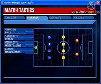 Cкриншот Premier Manager 2003-2004, изображение № 386314 - RAWG