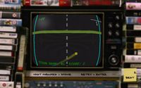 FIRST STEAM GAME VHS - COLOR RETRO RACER: MILES CHALLENGE screenshot, image №710259 - RAWG