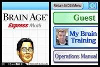 Cкриншот Brain Age Express: Math, изображение № 792565 - RAWG
