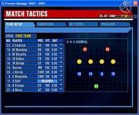 Cкриншот Premier Manager 2003-2004, изображение № 386323 - RAWG