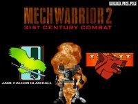 Cкриншот MechWarrior 2: 31st Century Combat, изображение № 330089 - RAWG