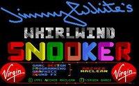 Cкриншот Jimmy White's 'Whirlwind' Snooker, изображение № 744609 - RAWG