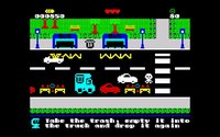 Cкриншот TRASHMAN Crisis Time ZX Spectrum 48/128k, изображение № 2369456 - RAWG