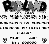 Cкриншот Rod Land, изображение № 737545 - RAWG