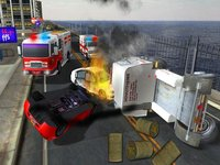 Cкриншот Fire truck emergency rescue 3D simulator free 2016, изображение № 1987329 - RAWG