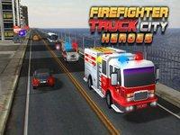 Cкриншот Fire truck emergency rescue 3D simulator free 2016, изображение № 1987327 - RAWG