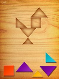 Cкриншот My First Tangrams for iPad - A Wood Tangram Puzzle Game for Kids - Perfect for Montessori method, изображение № 949339 - RAWG