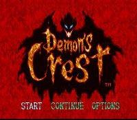 Demon's Crest (1994) screenshot, image №761474 - RAWG