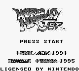 World Heroes 2 Jet (1994) screenshot, image №747119 - RAWG