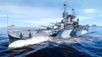 Cкриншот World of Warships: Legends — Грозный Arkansas, изображение № 2136542 - RAWG