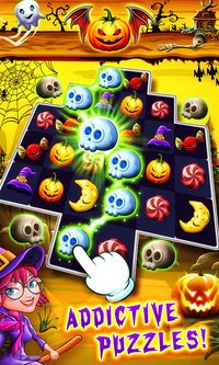Cкриншот Halloween Witch Connect, изображение № 2178986 - RAWG