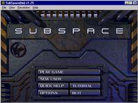 Cкриншот SubSpace, изображение № 560933 - RAWG