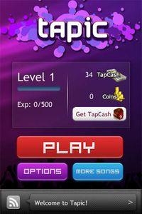 Cкриншот Tapic, изображение № 35476 - RAWG