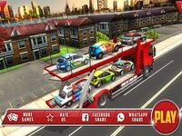 Cкриншот Vehicle Transporter Truck Game, изображение № 2831794 - RAWG
