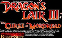 Cкриншот Dragon's Lair III: The Curse of Mordread, изображение № 748174 - RAWG