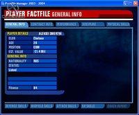 Cкриншот Premier Manager 2003-2004, изображение № 386322 - RAWG