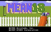 Cкриншот Mean 18, изображение № 741610 - RAWG