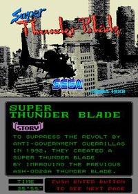 Super Thunder Blade (1988) screenshot, image №760501 - RAWG