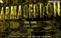 Cкриншот Armageddon (1995), изображение № 463134 - RAWG
