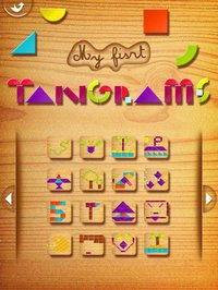 Cкриншот My First Tangrams for iPad - A Wood Tangram Puzzle Game for Kids - Perfect for Montessori method, изображение № 949335 - RAWG