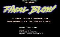 Final Blow screenshot, image №754960 - RAWG