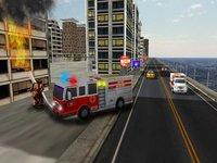 Cкриншот Fire truck emergency rescue 3D simulator free 2016, изображение № 1987330 - RAWG