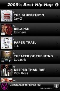 2,009 Best Hip-Hop & Rap Albums screenshot, image №2156163 - RAWG